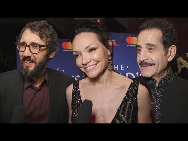 Stars Ask the Stars at the Broadway Opening of The Band's Visit