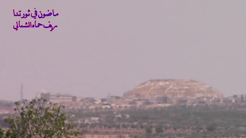 الطيران المروحي يقصف بالبراميل المتفجرة مدينة مورك بريف حماة 23 7 2019