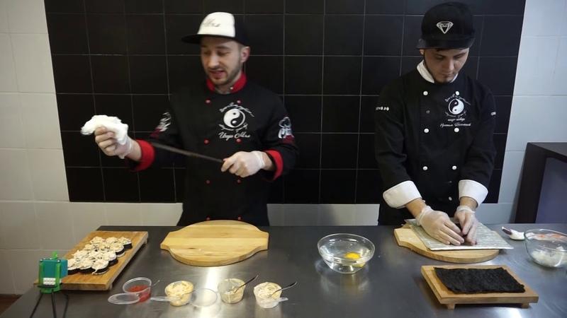 АРКТИК СЕТ- мастер-класс презентация нового блюда авторского суши-бара Инь Янь Project