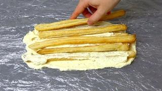 Самый простой ТОРТ  Всего ТРИ ингредиента! Можно приготовить заранее и заморозить!