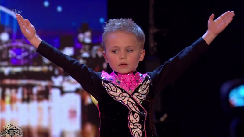 Britain's Got Talent 2018 Oscar Donnelly 6 Year Old Irish Dancer Full Audition S12E06