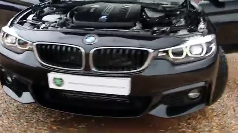 BMW 4 Series 435d xDrive M Sport 2dr Coupe Automatic in Sapphire Black 2017
