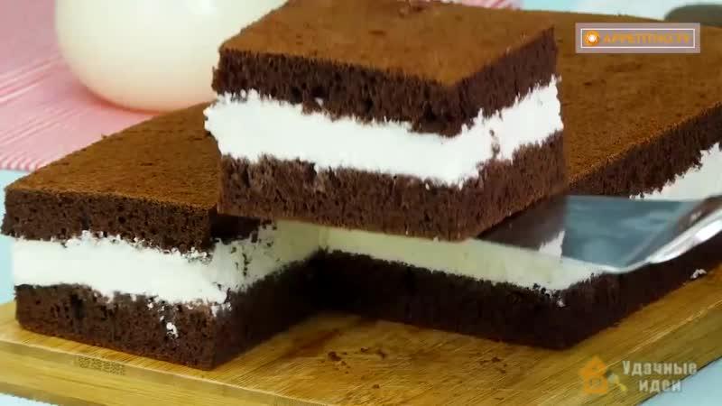 Делаем торт Молочный ломтик