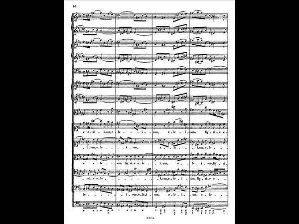 Johann Sebastin Bach Mass in B minor BWV232 ― Kyrie Ⅰ