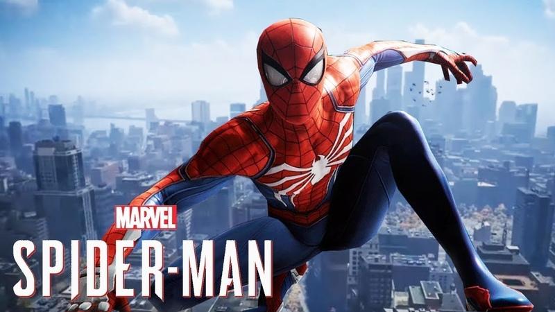 Spider Man PS4 Игрофильм