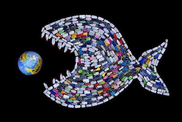 Во время каждого приема пищи мы употребляем частицы пластмассы