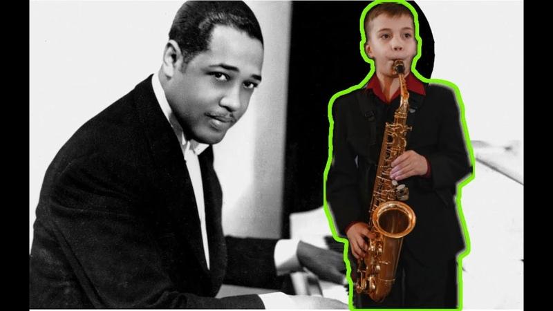 Дюк Эллингтон C Jam Blues на саксофоне музыкальный ликбез