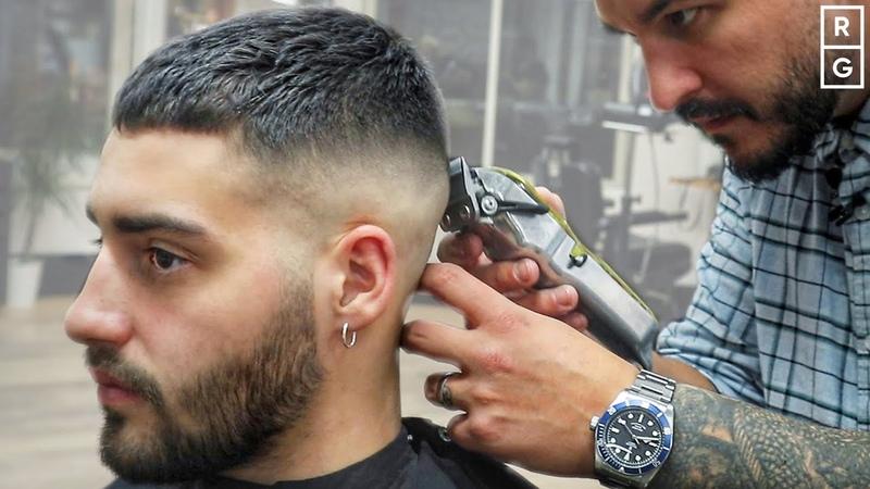 Short Crop Haircut Simple Short Fade Haircut For Men смотреть онлайн без регистрации