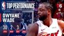 Dwyane Wade Puts On A Show In Final Home Game | April 9, 2019 #NBANews #NBA #Heat #DwyaneWade