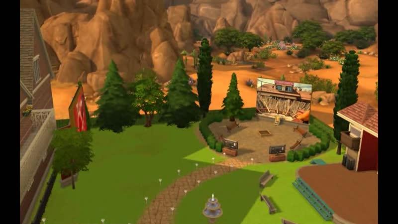 Дом 2(Sims 4) Трейлер 2