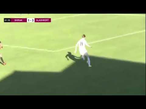 Голевая передача ⚽ Никиты Танкова в матче Ширак Алашкерт 2 4