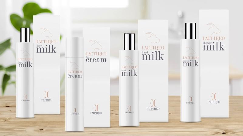 Косметика на основе козьего молока EC cosmetics