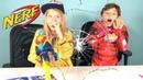 Новые бластеры Nerf Avengers ✪ и коллекционные фигурки Мстители Marvel ✪ ОБЗОР ✪ Играем вместе