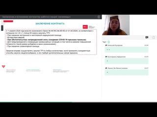 Заключение и исполнение контрактов- работа в секции неликвиды